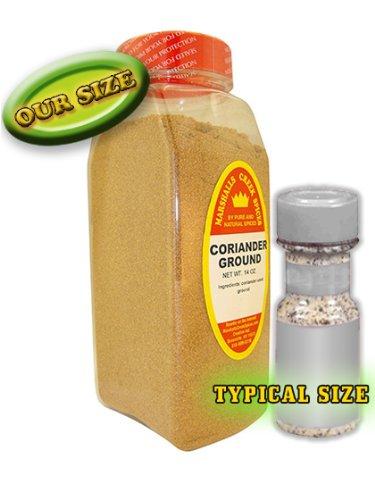 Marshalls Creek Spices Coriander Seasoning, Ground, XL Size, 16 Ounce