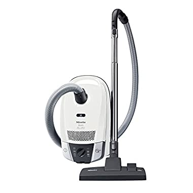 New Miele Compact C2 Quartz Canister Vacuum, Lotus White - Corded