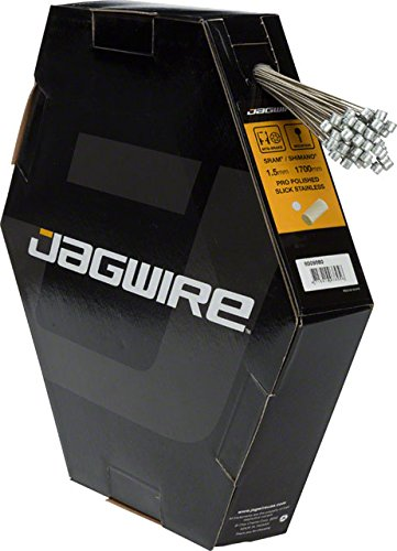 Jagwire Pro Polished Slick Stainless Mountain Brake Cable Box/50 1.5x1700mm SRAM/Shimano by Jagwire