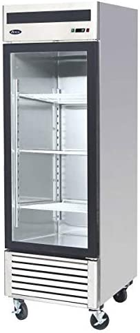 Amazon Com Atosa Mcf8705 Single Door Merchandiser Refrigerator Appliances