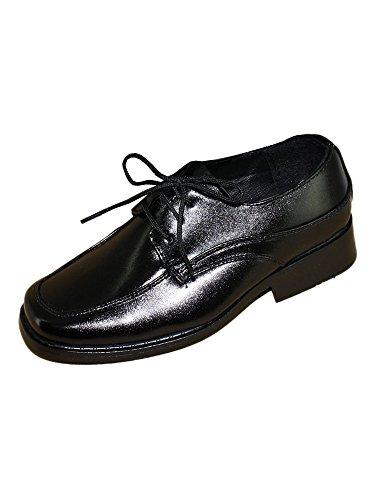 Schuhe Zeremonie Jungen stein Schwar