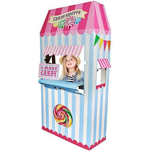 BirthdayExpress Carnival Candy Shoppe Room Decor - Cardboard