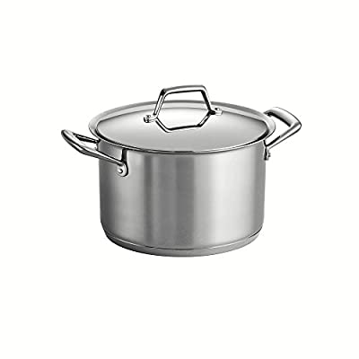 Tramontina Prima Stainless Steel Tri-Ply Stock Pots