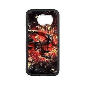 Deadpool Samsung Galaxy S6 Cell Phone Case Black TPU Phone Case SV_081658