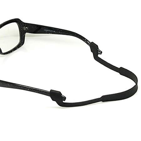 Sport unisex in neoprene occhiali cordino elastico Sunglass Eyewear fermo nero per uomini e donne zcSTwC