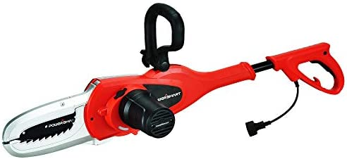 PowerSmart PS8204 Lopper, 5 Amp Electric Chain Saw, red, Black