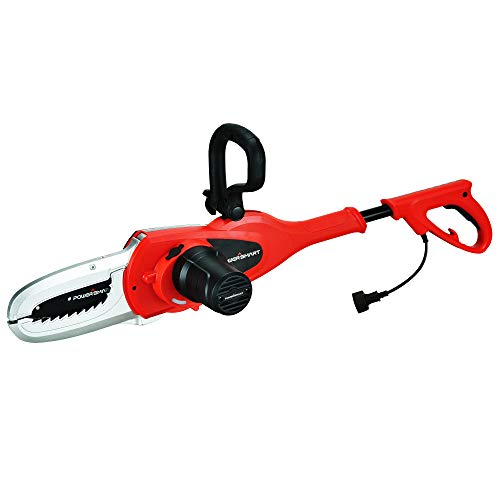 - PowerSmart PS8204 Lopper, 5 Amp Electric Chain Saw, red, Black
