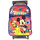 New Mickey Mouse Small Toddler Rolling Backpack(2281) by Disney