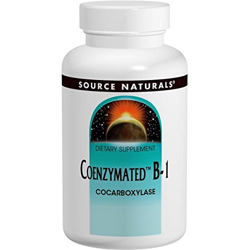 Source Naturals, Coenzymated B-1, 60 Tablets - 3PC by Source Naturals