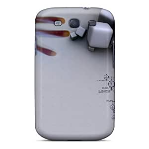 AHX3979qjXM Faddish 3d Cubes Cases Covers For Galaxy S3