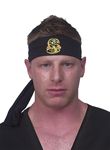 Costumes Cobra For Kids (InCogneato Cobra Kai Headband)