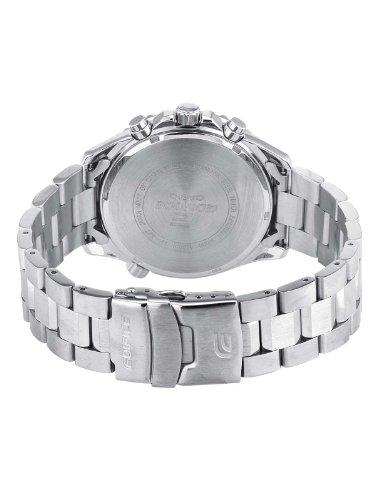 Casio-EF-527D-1AVEF-Edifice-Reloj-de-caballero-de-cuarzo-correa-de-acero-inoxidable-color-gris-oscuro