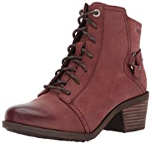 Teva Women's W Foxy Lace Waterproof Boot, Redwood, 7 M US