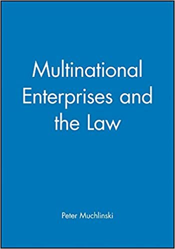 Book Multinational Enterprises and the Law by Peter Muchlinski (1999-12-05)