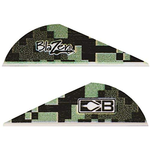 Bohning Blazer Vanes Digital Camo 36 pk. Green Bohning Blazer Broadhead Vanes