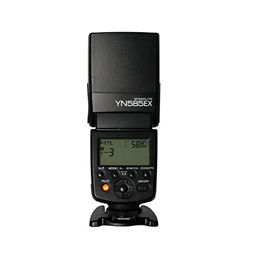 YONGNUO YN585EX Wireless Camera Flash Speedlite with P-TTL Function for Pentax Digital Cameras