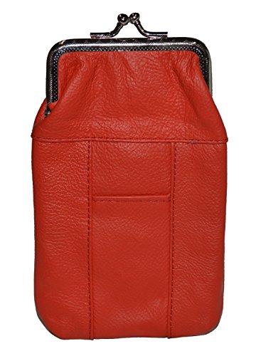 Leather Cigarette Case Pack Holder Regular or 100's Lighter Pocket by Leatherboss - Cigarette Holder Pack
