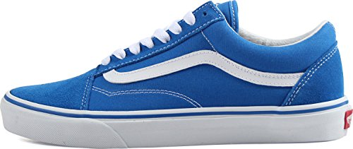 Trainers suede Low Skool Unisex Adults' Old Top Vans White true Imperial canvas Blue qWUH1Rnq