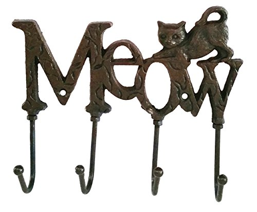 "Ipod Rack (Decorative ""Meow"" Coat Rack and Key Hold)"