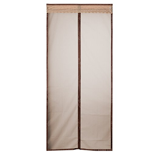 Patio Cover Kit (Magnetic Thermal Insulated Door Curtain Enjoy Your Cool Summer And Warm Winter With Saving You Money Door Curtain Auto Closer Fits Doors Up To 34