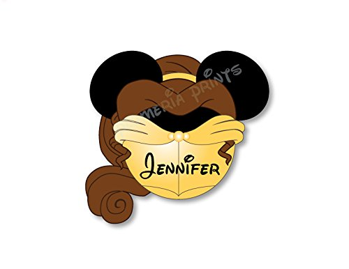 handmade-disney-inspired-princess-belle-beauty-and-beast-magnet-for-disney-cruise