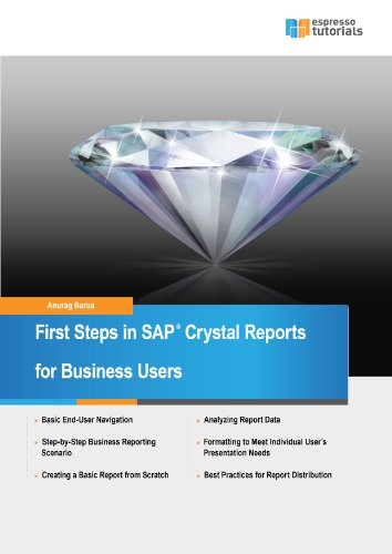 First Steps in SAP Crystal Reports Pdf