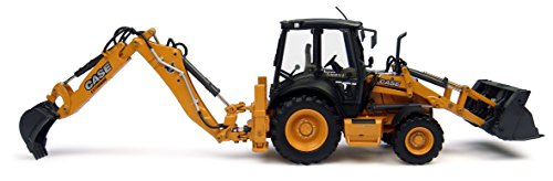 50 Diecast Vehicle (1/50th High Detail Case 580 ST Loader Backhoe)
