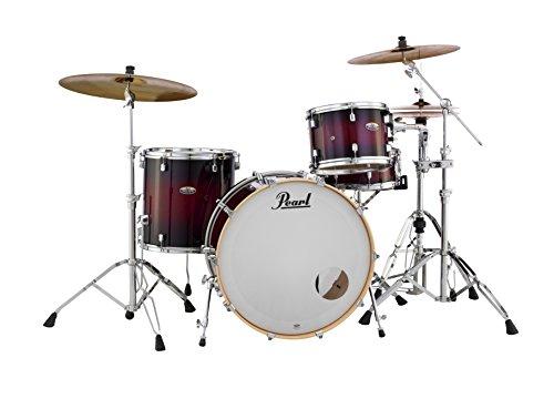 (Pearl Drum Set, Gloss Deep Red Burst, inch (DMP943XPC261))