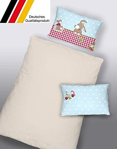 Dormisette Kinderbettwäsche Babybettwäsche Baumwolle 100x135 (5110) Made in Germany