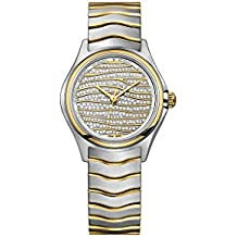 Ebel Wave Diamond Pave Dial Ladies Watch 1216284