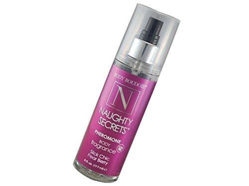 Body Boudoir Naughty Secrets [Pear Berry] Pheromone Body Fragrance Spray Formulated with High Grade Body Safe Ingredients - Size 6 - Sex Kiwi Sweet