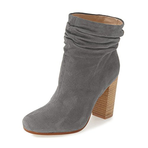 High Heel Slouch Ankle Boot - 5