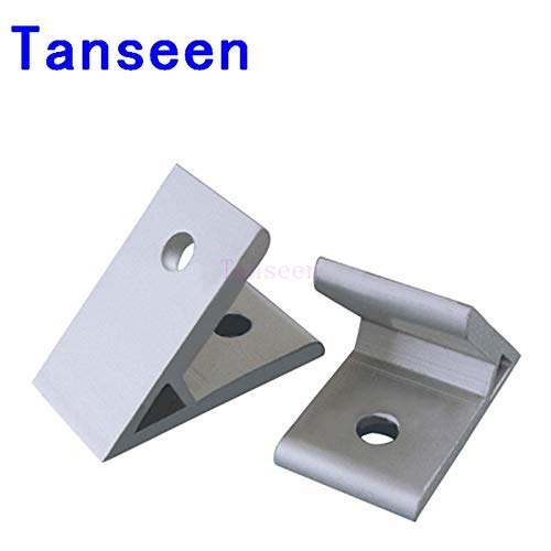 Zamtac 45 Degree Corner Brackets for 2020, for 20 Series Aluminum Extrusion Profiles,10pcs/lot.