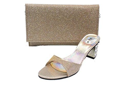 Wear & Walk UK - Zapatillas de Material Sintético para mujer Gris gris oscuro ViygfpEomQ