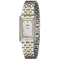 Citizen Women's Quartz Watch with Crystal Accents, EK1124-54D