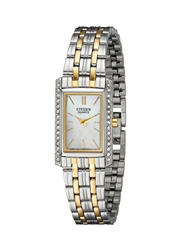 Citizen Women's Quartz Watch with Crystal Accents, EK1124-54D