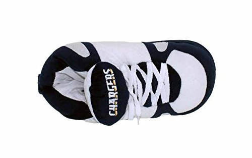NFL Feet Comfy Happy Womens Angeles Los Slippers and Mens Chargers LICENSED Sneaker Feet OFFICIALLY qHCgwrHE8