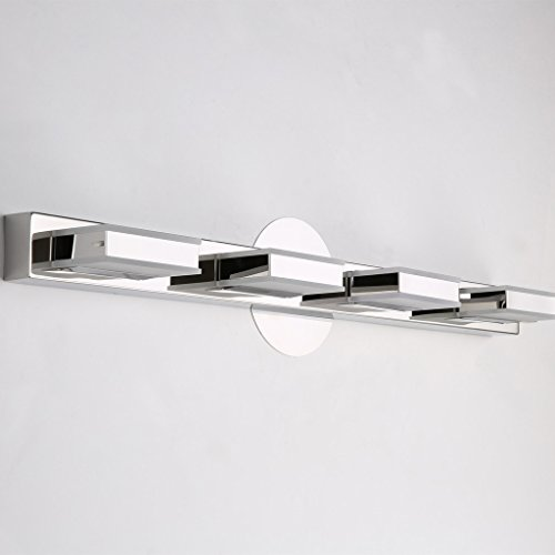 mirrea 16W Modern LED Vanity Light in 4 Lights, Cold White by mirrea (Image #6)