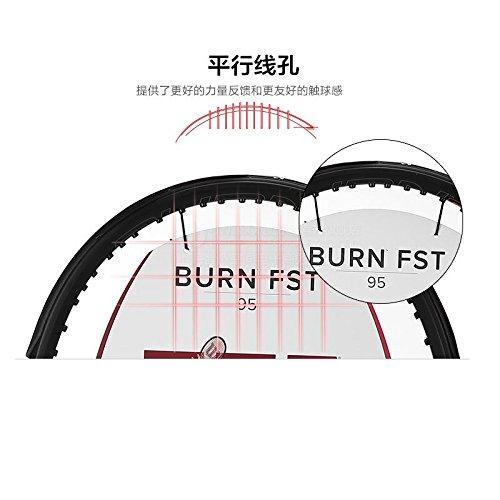 Wilson Burn FST 95 Tennis Racquet 4-3 8