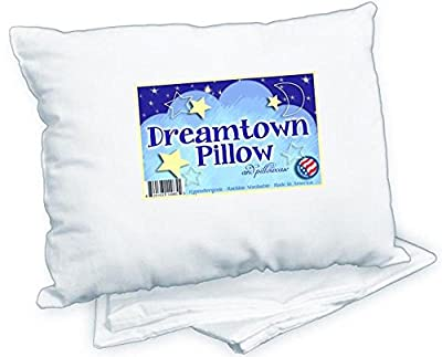 Dreamtown Kids Toddler Pillow With Pillowcase, White, 14x19 by Dreamtown Kids that we recomend individually.