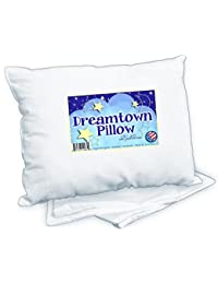 Dreamtown Kids Toddler Pillow With Pillowcase, White, 14x19 BOBEBE Online Baby Store From New York to Miami and Los Angeles