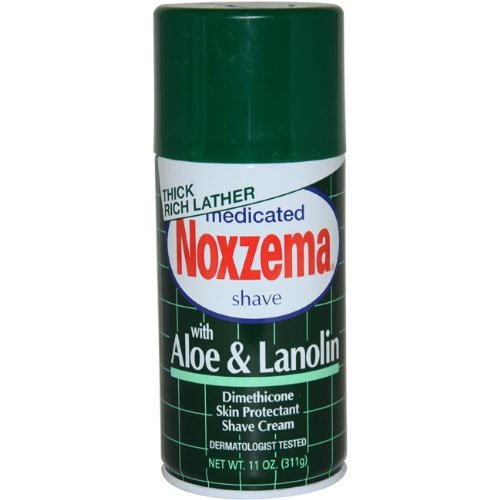 Medicated Shave Cream with Aloe And Lanolin By Noxzema for Men Shave Cream, 325 ml 2915825