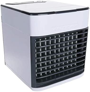 ミニクーラークーラーファンパーソナルエアコンエアコンクーラーデスクトップエアコンミニエアコンusbエアコン家庭用エアコン用クーラー (Color : A, Size : 14.5*17*16CM)