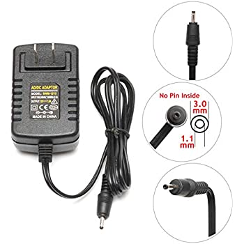 Qiouzw 12V AC/DC Adapter Wall Charger Home Power for Acer Iconia Tab Tablet A100 A101 A200 A210 A500 A501;W3 W3-810;Lenovo Miix 2 10 11 Tablet PC ...