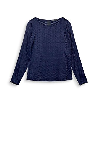 Blouse Navy ESPRIT Femme 400 Collection Bleu BxOq7T