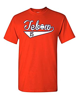 "The Silo ORANGE New York Tim Tebow ""Tebow Logo"" T-Shirt"