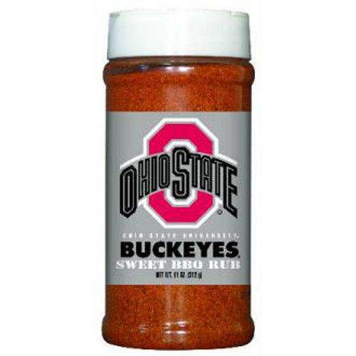 Ohio State Buckeyes NCAA Sweet BBQ Rub (11oz)