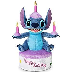 Disney Parks Stitch Birthday Cake Plush – Light-Up