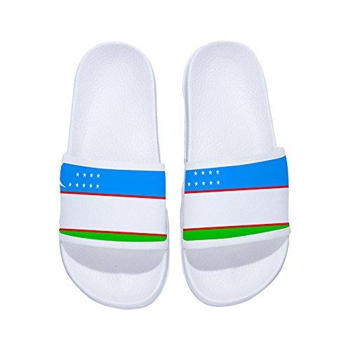 DREA Boys Girl's Casual Sandal Slippers National Flags Sandals Shower Slides Indoor Slippers -
