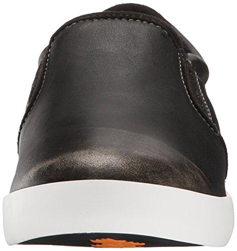 Leather Negro Slip Slip On Timberland Mujer On q6R7AR